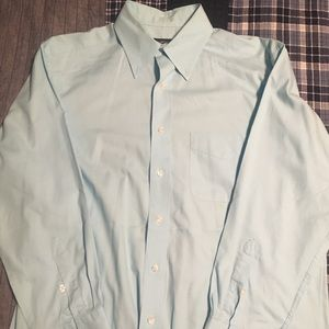Light Blue Club Room Button Down Shirt